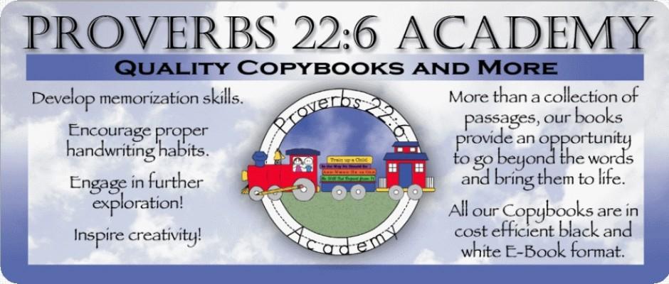 Proverbs 22:6 Academy