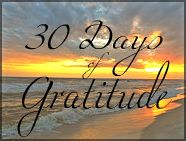 Teaching Good Things 30 Days of Gratitude