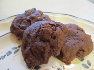 Double-Chocolate Chocolate-Chip Cookies