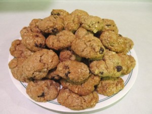 Ginny's Oatmeal-Raisin Almond Cookies