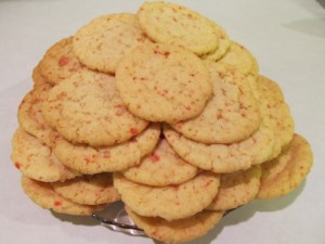 Ginny's Peppermint Sugar Cookies Dish