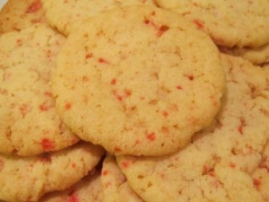 Ginny's Peppermint Sugar Cookies Closeup